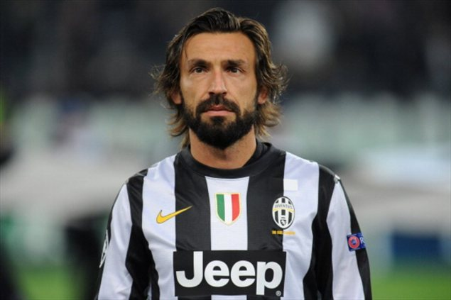 Pirlo misses out after an unbeaten season and a Euro final