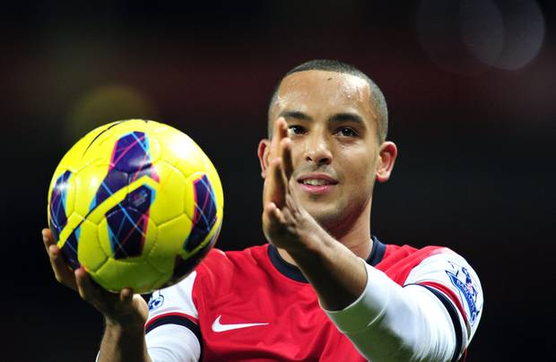 Three goal Theo: It was his weekend